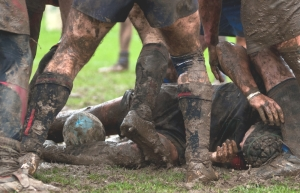 muddy scrum